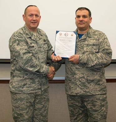Camuglia Awarded Outstanding Volunteer Medal
