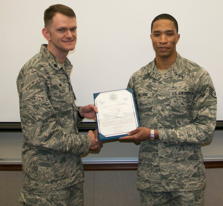 Williams Promoted to Technical Sergeant