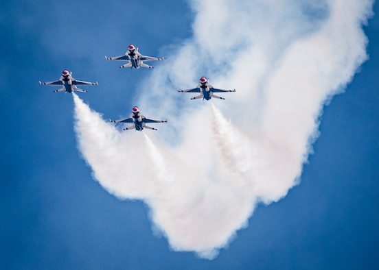 The Thunderbirds perform