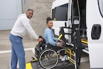 DLA Distribution San Joaquin acquires ADA compliant van making transportation easier for its disabled employees