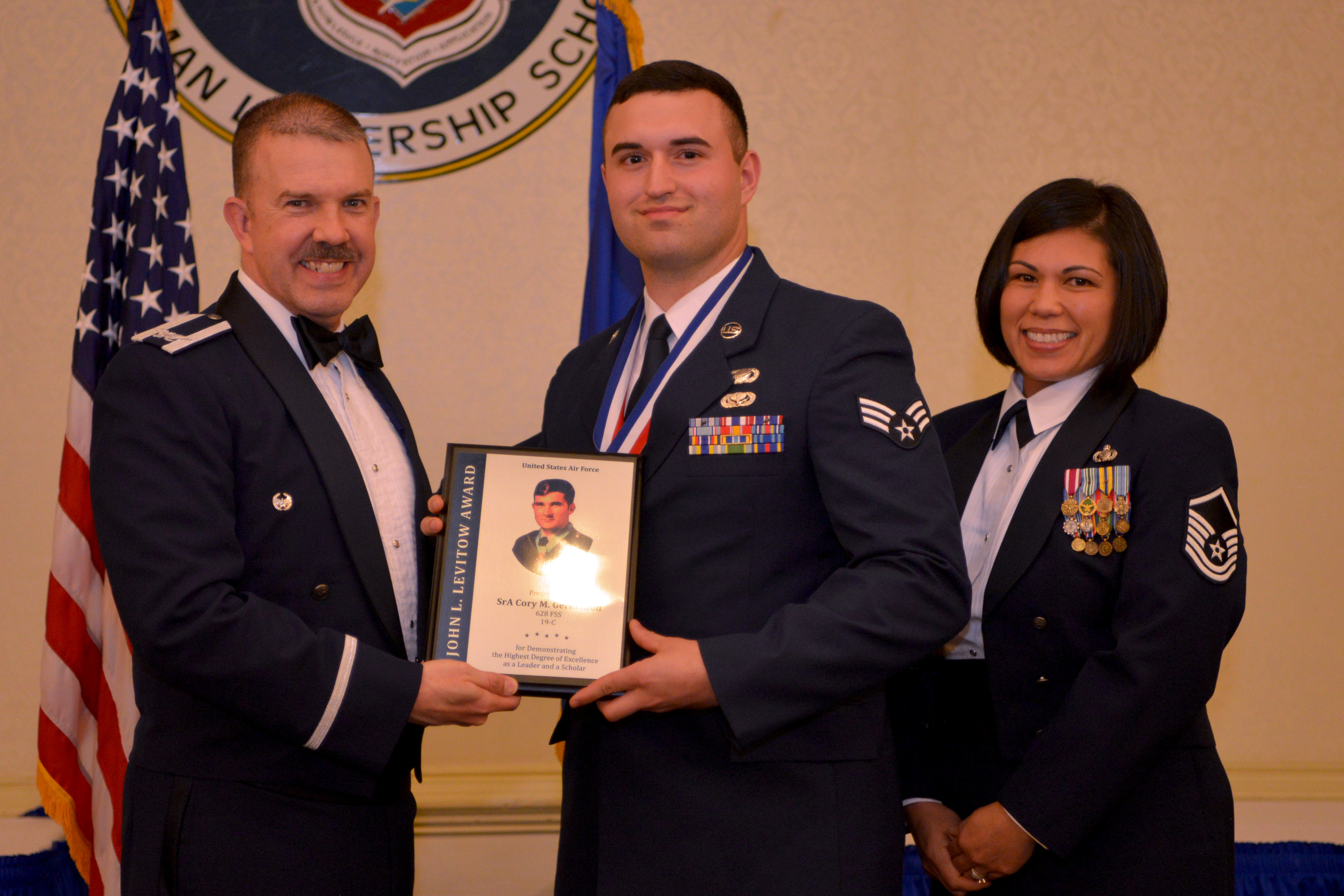 Airman Leadership School Class 19C graduates > Joint Base