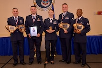Airmen were honored with awards during the Airman Leadership School Graduation Ceremony March 28, 2019, at Joint Base Charleston, S.C