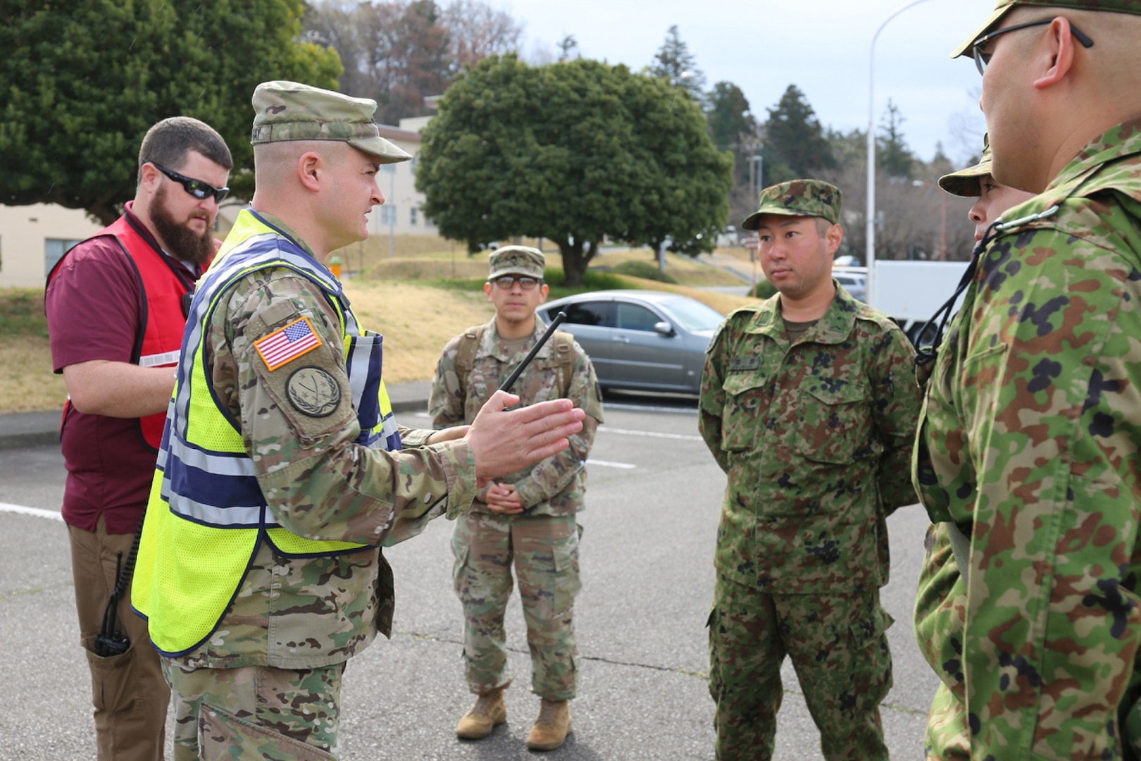 U.S. Army Garrison Japan Conducts HADR Evacuation Drill with Host-nation Partners