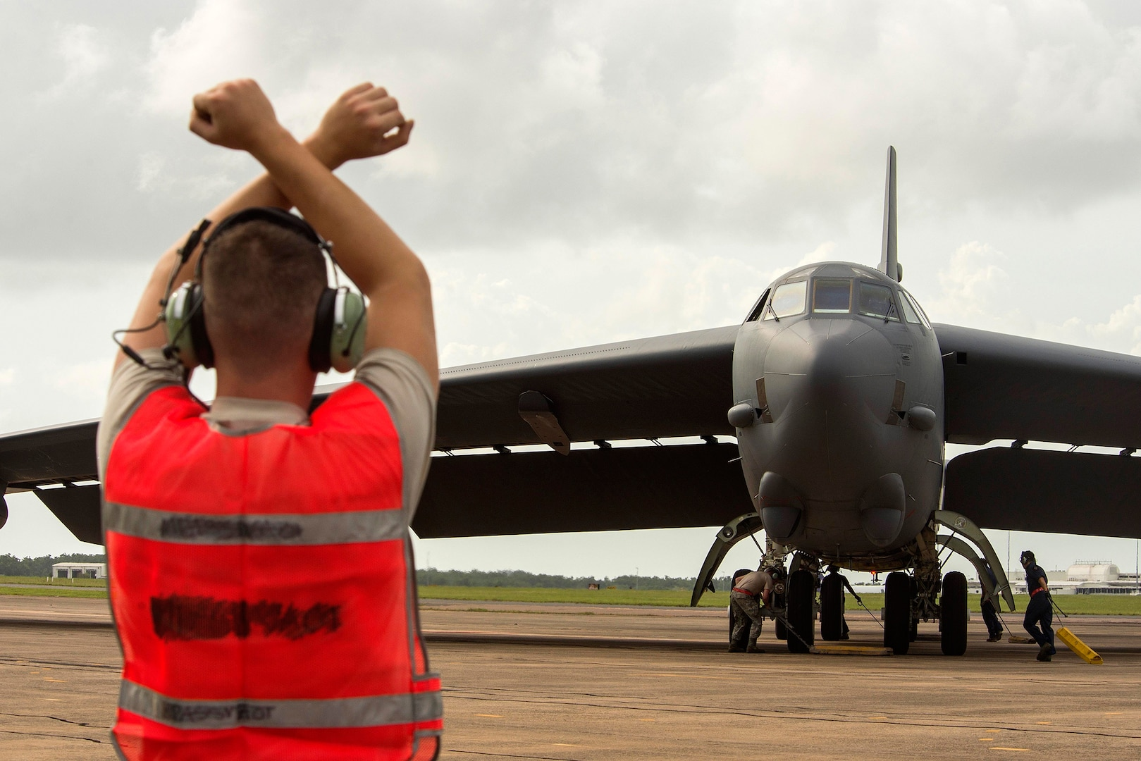 23rd Expeditionary Bomber Squadron brings Bomber Support to Diamond Shield 2019