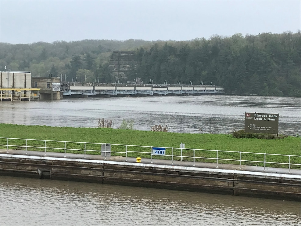 Starved Rock Lock and Dam