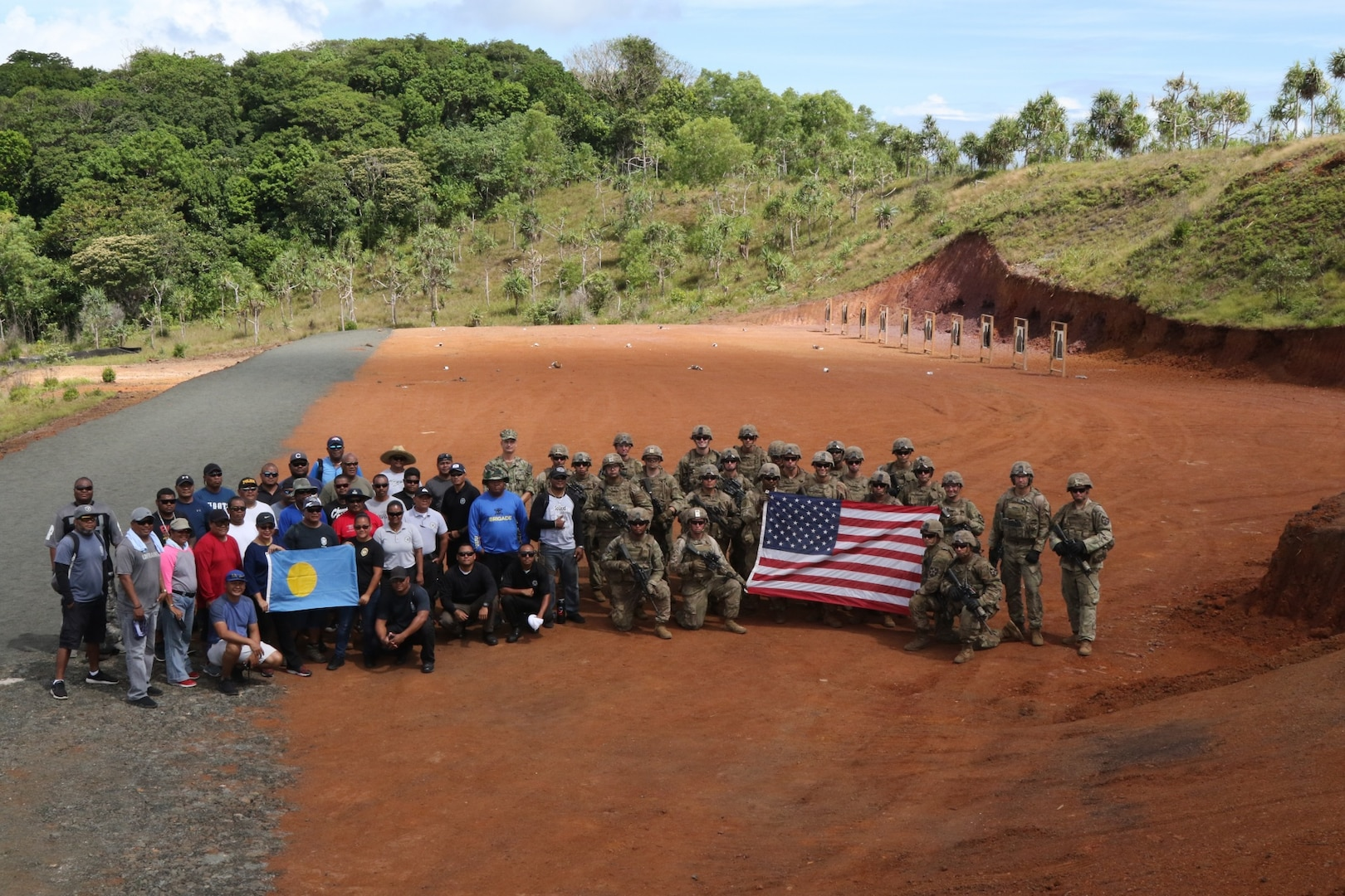 5-20th Infantry Regiment Builds Partnership and Trains in Palau