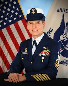 Photo of Command Master Chief Janine M. Tschantz-Hahn