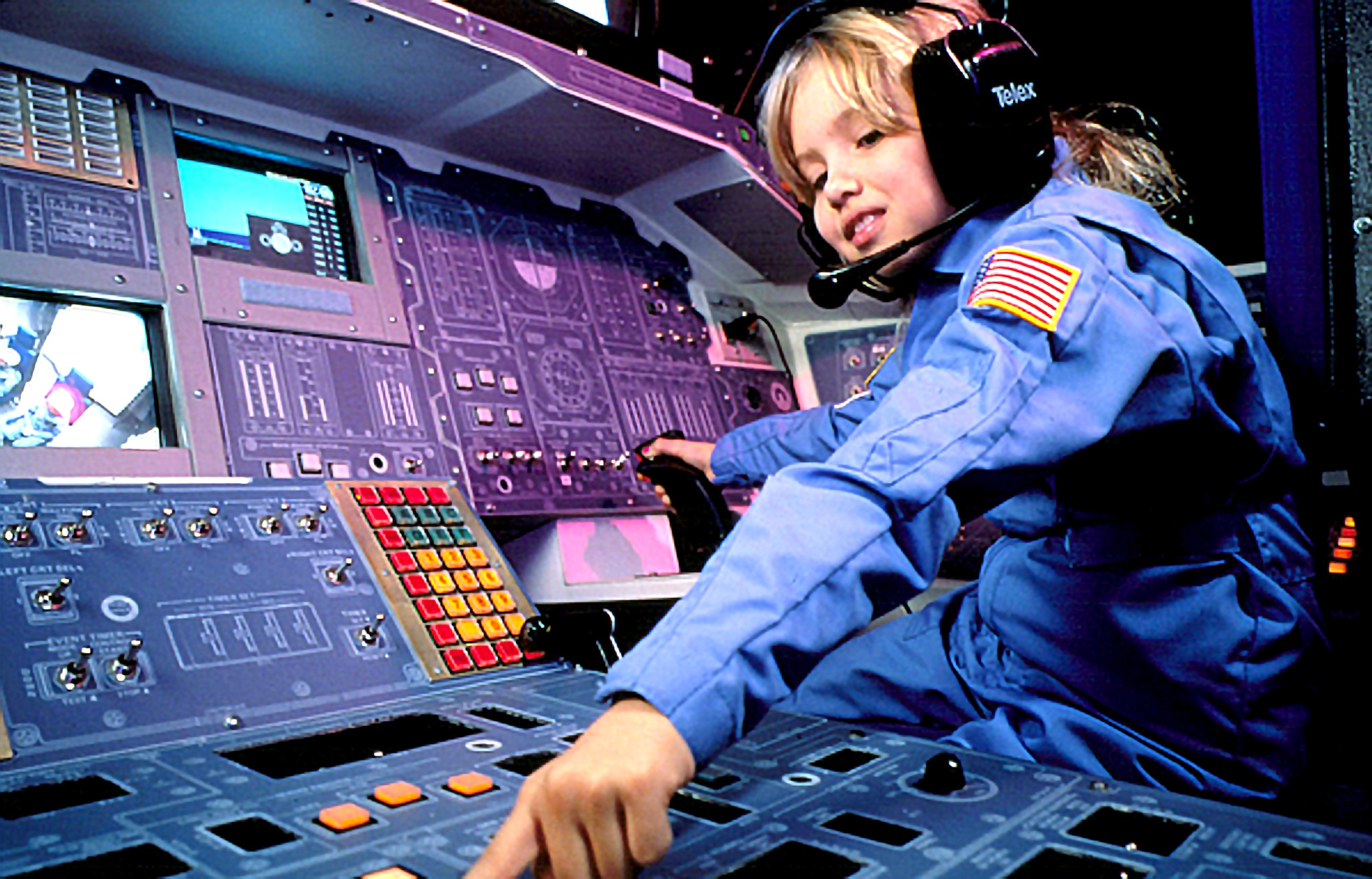 Air Force Services Child and Youth Programs is offering a variety of summer youth camps in 2019, to include Air Force Space Camp. (U.S. Air Force/file photo)