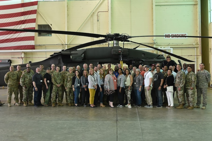 Educators from all over the nation had an opportunity to take a glimpse into a day in the life of an Army Soldier.