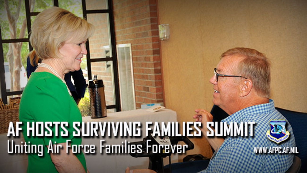 Air Force hosts surviving families summit; uniting Air Force Families Forever