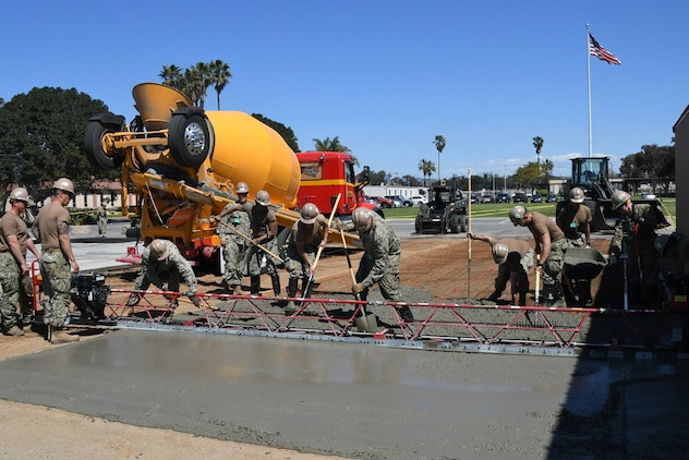 Seabees support MCTSSA during PACBLITZ 2019
