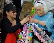Americans learn Japanese history through Hiroshima Peace Park visit