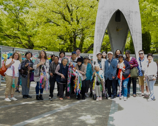 Americans learn Japanese history through Hiroshima Peace Park visit