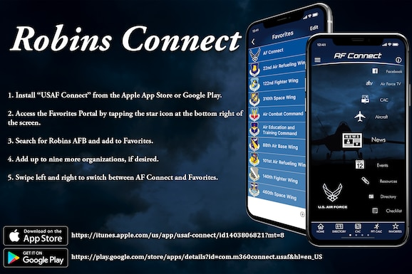 Robins Connect now live!