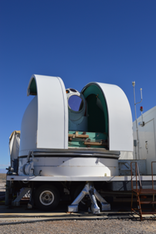 During the series of tests at the High Energy Laser System Test Facility at White Sands Missile Range, the Demonstrator Laser Weapon System (DLWS), acting as a ground-based test surrogate for the SHiELD system, was able to engage and shoot down several air launched missiles in flight. The demonstration is an important step of the SHiELD system development, by validating laser effectiveness against the target missiles. The final SHiELD system, however, will be much smaller and lighter, as well as ruggedized for an airborne environment. (Courtesy photo)