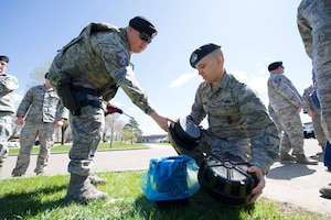 The 934th Security Forces Squadron commemorated Arbor Day during a tree planting ceremony at the Minneapolis-St. Paul Air Reserve Station, Minn., April 26, 2019.  Additionally, a time capsule was placed underneath the tree to memorialize the occasion and event.