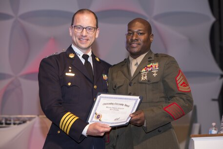 Gunnery Sgt. Cheshier's Award