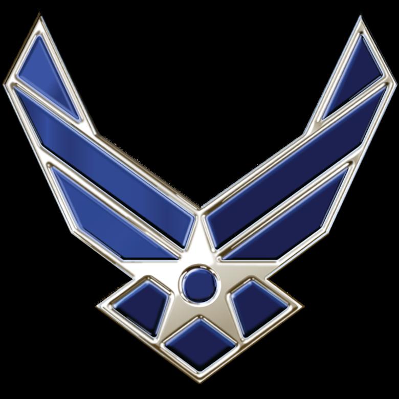 Metal Air Force Symbol