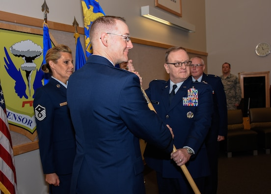 442 MDS welcomes new commander