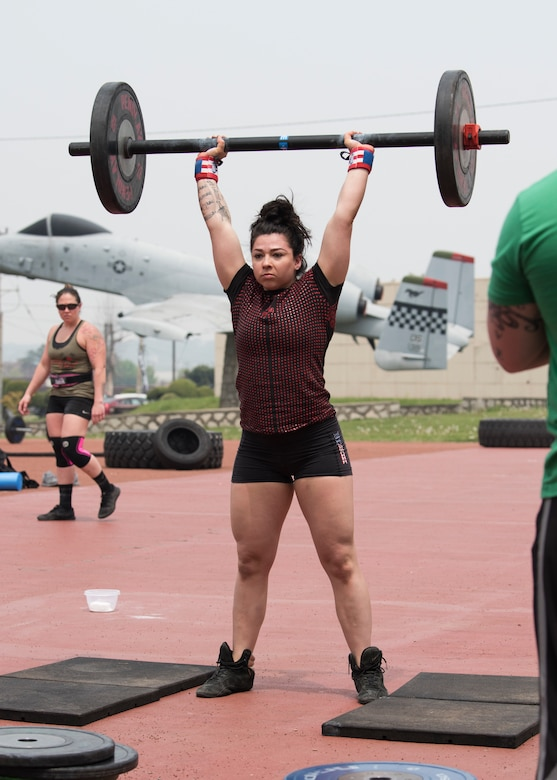 Peninsula's strongest compete at Osan AB