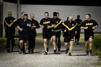78th Training Division leaders make time for physical readiness