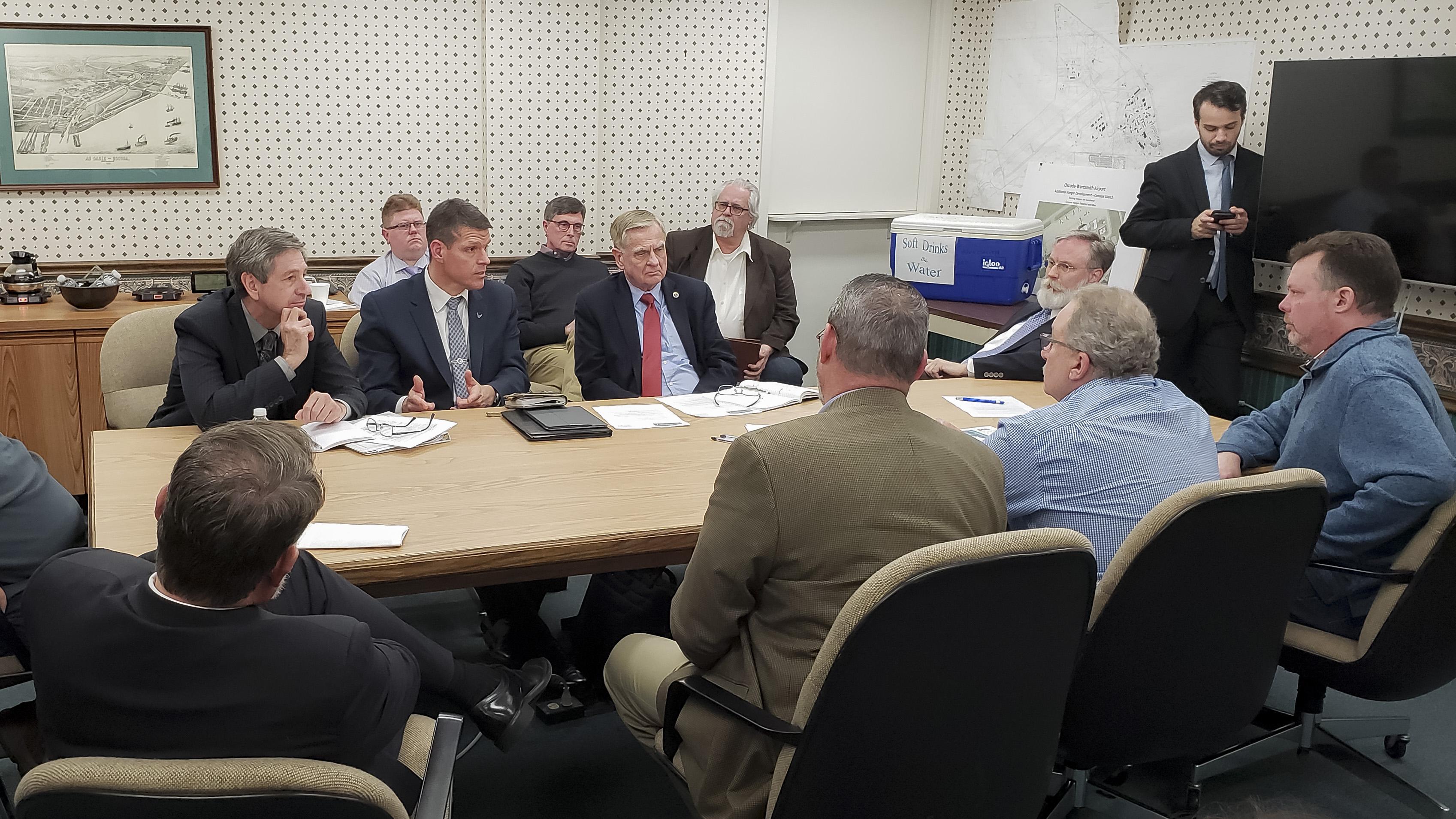 Top Air Force leaders address Wurtsmith Water Concerns > U S  Air