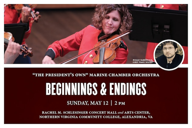 Marine Chamber Orchestra: Beginnings and Endings