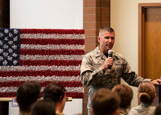 Col. Sean Pierce, commander of the 446th Airlift Wing