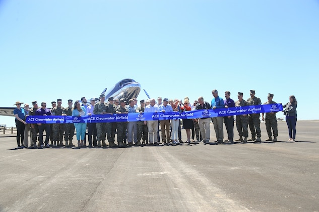 Catalina Island Airport ribbon cutting ceremony