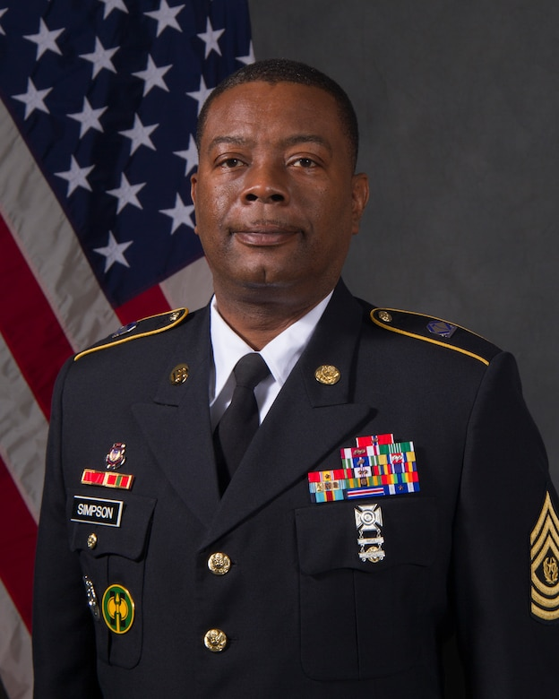 Command Sergeant Major Edward F. Simpson