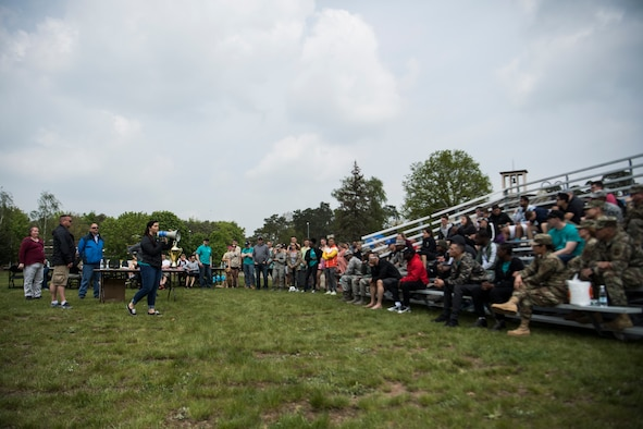 Ramstein hosted the first combined Ramstein Mudder and CLEAR challenge May 2, 2019 on Ramstein Air Base, Germany.