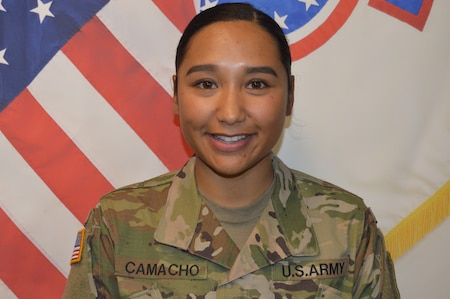One female 2LT Army Officer