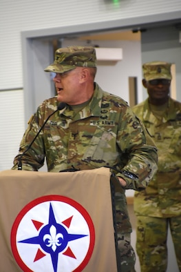 The Army's 655th Regional Support Group at Westover Air Reserve Base hosted a change of command ceremony for incoming commander, Col. Lyle A. Ourada, and outgoing commander, Col. Jimmey W. Todd Jr., May 5, 2019.