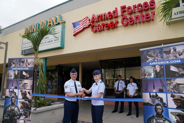 Virgin Islands Air Force Recruiting office opens