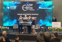 The Cyber Policy Team, Team Black Knights, takes first place at the 2019 European Cyber 9/12 Strategy Challenge in Geneva, Switzerland, beating out 22 other teams from 13 countries.