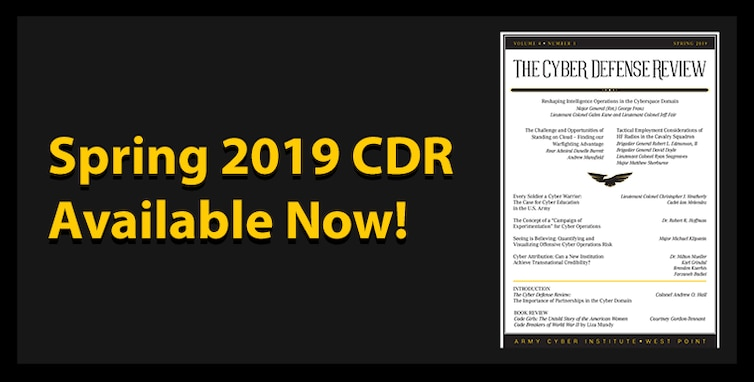 Spring 2019 CDR is now Available!