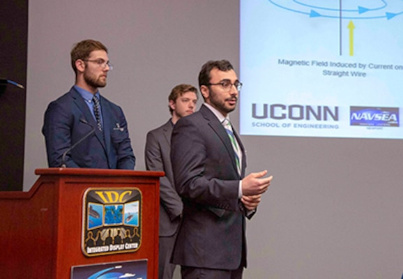 Senior design and capstone projects by college students address Navy needs