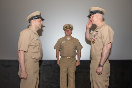 Commander, Fleet Activities Chinhae Conducts Change of Charge