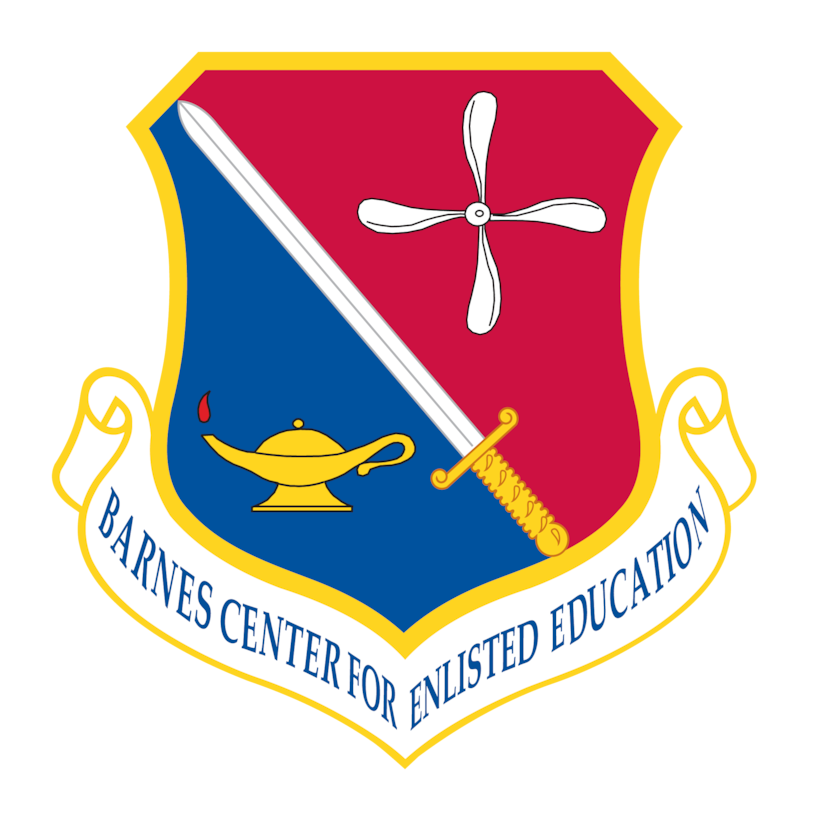 Barnes Center for Enlisted Education shield