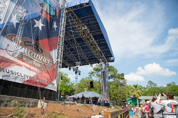 Max Impact performs for thousands of country music fans as part of the Armed Forces Tribute at the 2019 Suwannee River Jam. This event took place at the Spirit of the Suwannee Music Park on Saturday, May 4, 2019.