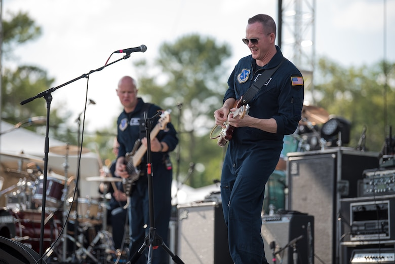Max Impact performs for thousands of country music fans as part of the Armed Forces Tribute at the 2019 Suwannee River Jam. The event took place at the Spirit of the Suwannee Music Park on Saturday, May 4, 2019.