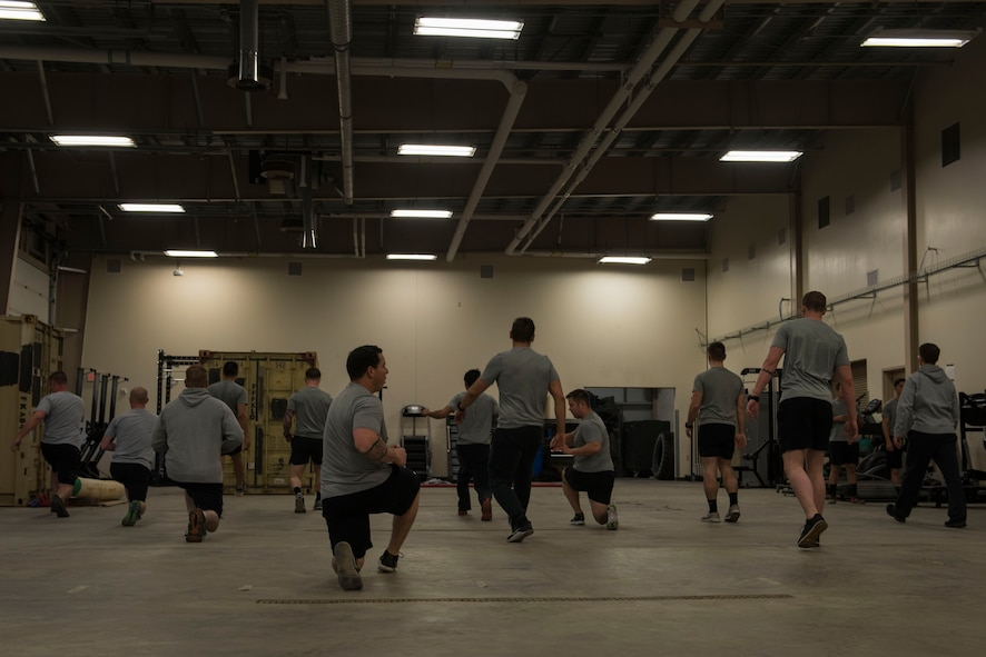 The Tier II OFT is comprised of 10 different exercises that measure physical strength, coordination, endurance and agility.