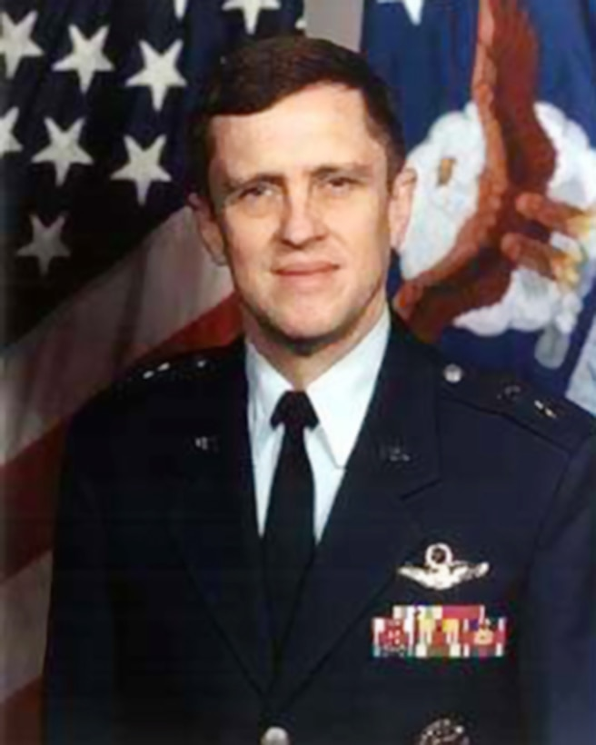 "photo of U.S. Air Force Maj. Gen. Charles ""Ron"" Henderson."