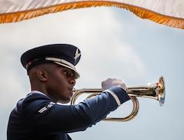 Honor Guard bugler