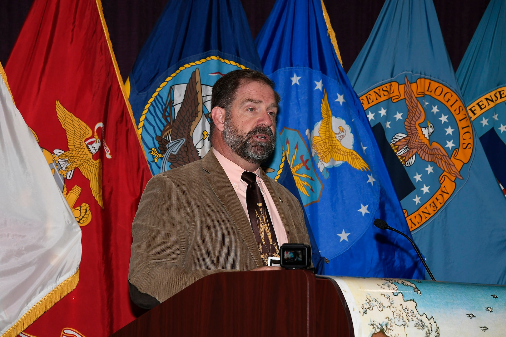 DLA Disposition Services Director Mike Cannon shares his experiences serving across the Pacific Rim and praises the work done by Asian-Pacific Americans serving the Defense Logistics Agency.