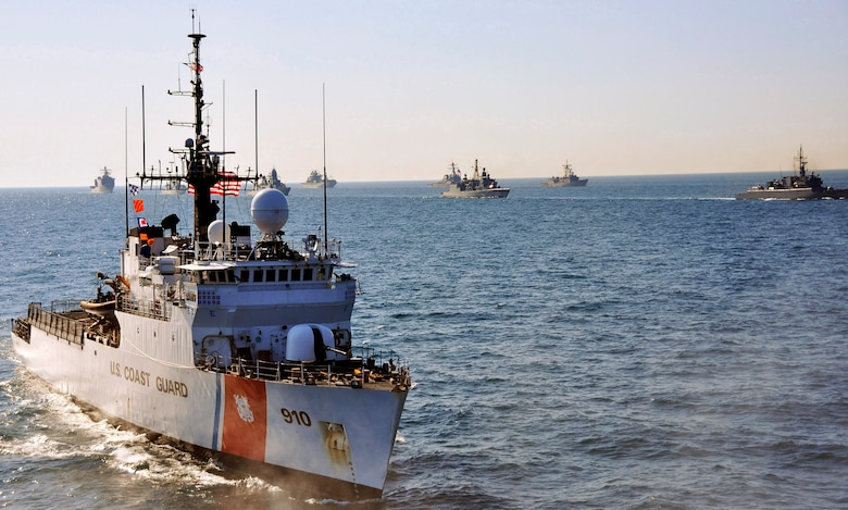 The U.S. Coast Guard, Nigerian Navy, and Cabo Verdean Coast Guard conducted joint maritime law enforcement operations as part of Africa Maritime Law Enforcement Partnership (AMLEP) 2019 in the Gulf of Guinea, April 9-May 2, 2019.
