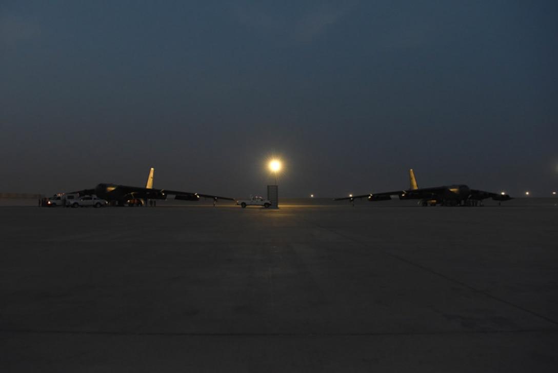 B-52Hs arrive in CENTCOM AOR