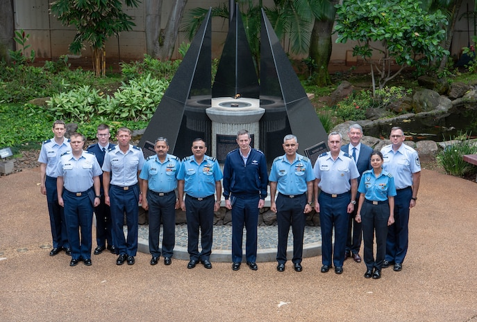 India, U.S. Air Force Leaders Participate in Executive Steering Group