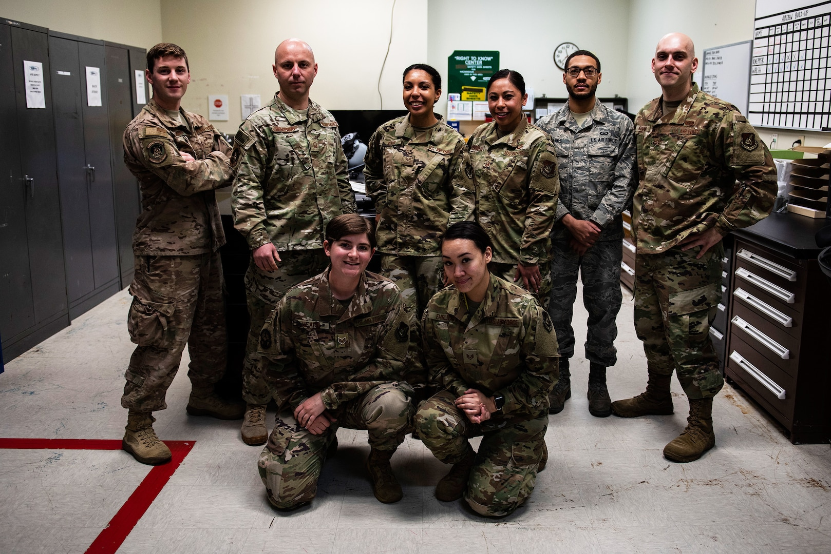 35th, 80th Aircrew Flight Equipment Combine Experience, Grow in Excellence