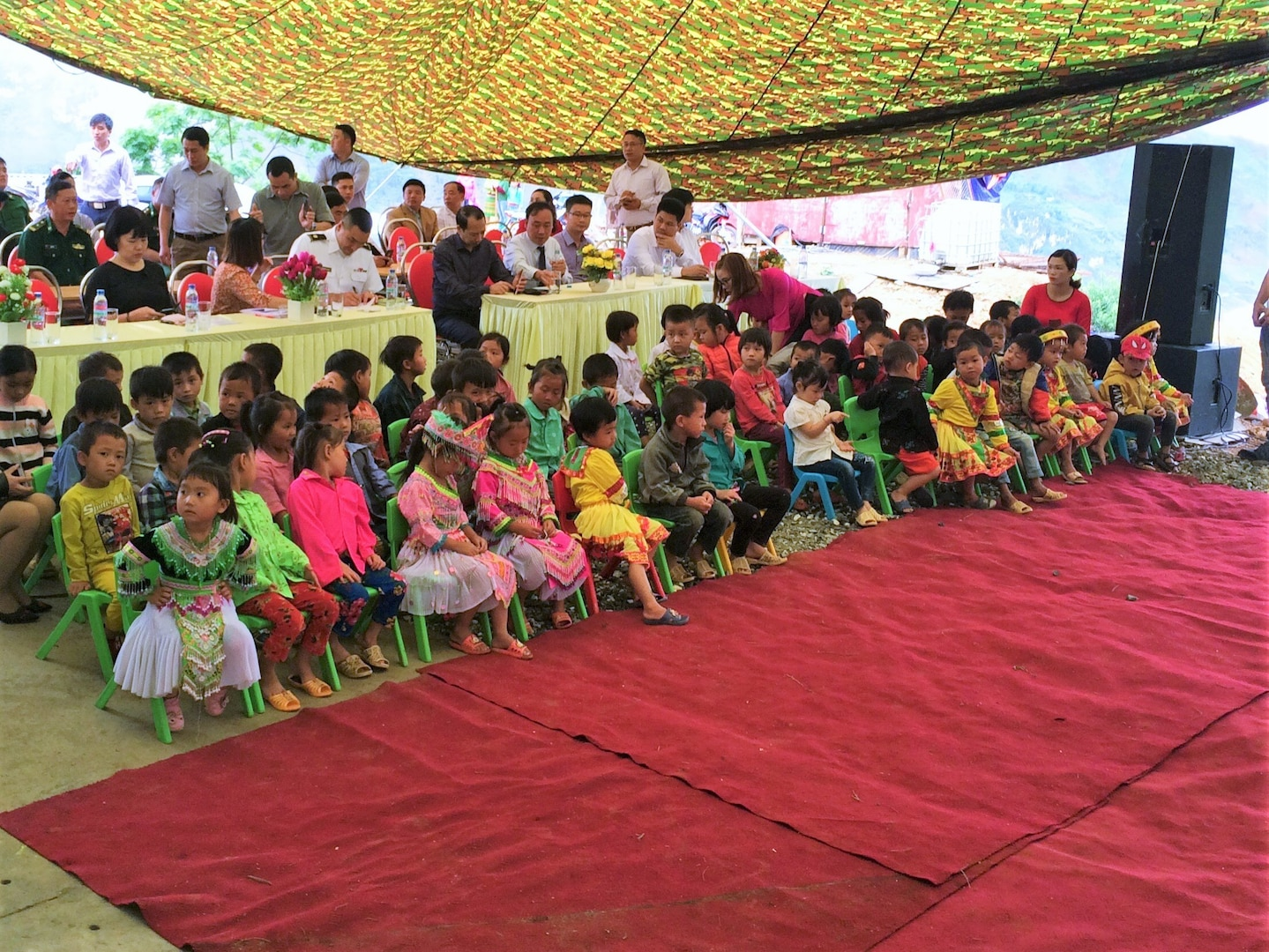 U.S. Army Corps of Engineers Building Bright Futures for Children in Vietnam